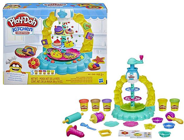 Набор для творчества Плей-До Карусель сладостей Play-Doh Kitchen Creations Sprinkle Cookie Surprise