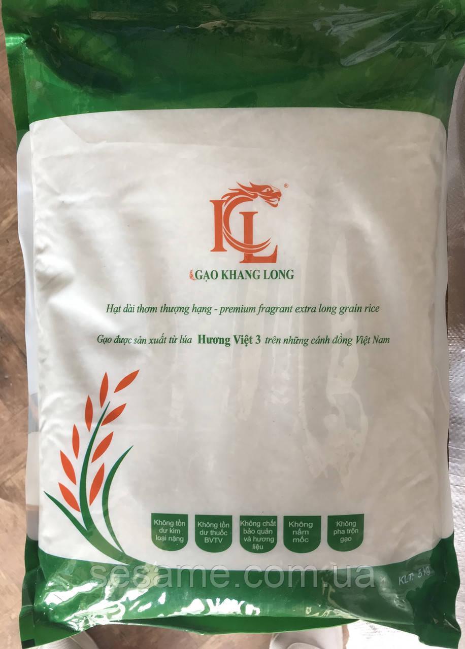 Органический вьетнамский рис Gao Khang Long Высокого качества  5кг (Вьетнам)