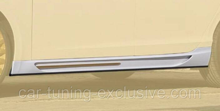 MANSORY side skirts for Bentley Flying Spur