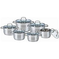 Набор кастрюль (Набор посуды) 12 предметов Maestro MR 3520