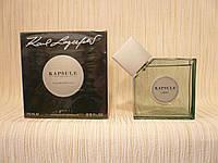Karl Lagerfeld - Kapsule Light (2008) - Туалетная вода 75 мл - Редкий аромат, снят с производства