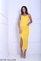 Элегантное приталенное платье с открытой спиной и завязкой Pamela
