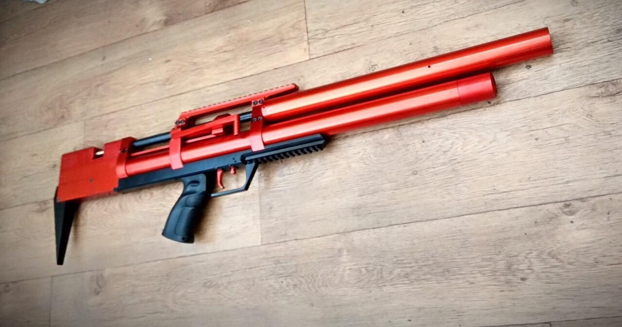 ВИНТОВКА ПНЕВМАТИЧЕСКАЯ PCP T- REX II Tactical Big Bore