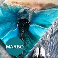 OceanBlue морская волна краситель пигмент для смол Марбо Marbo (Италия), 15 мл, концентриров.