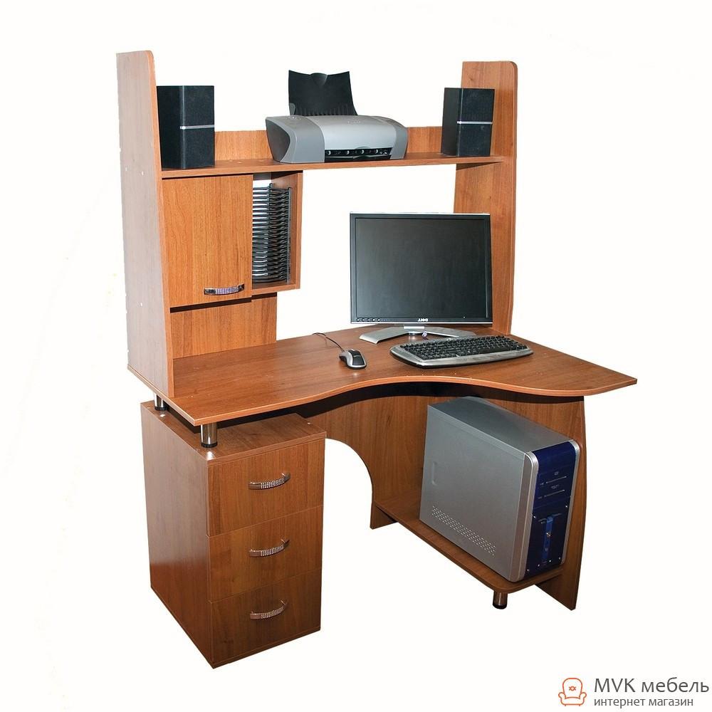 Стол компьютерный c надставкой Ника-8