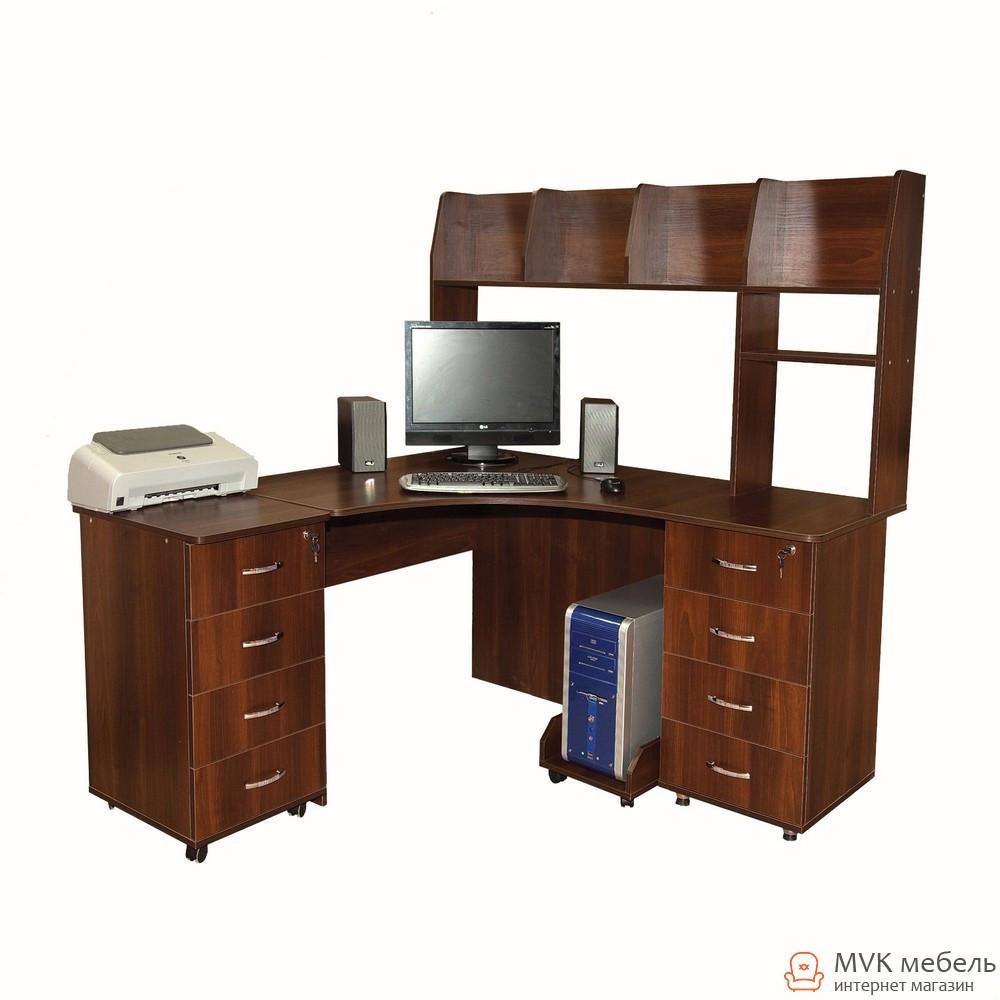 Угловой компьютерный стол Ника-9
