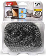 Термостойкий шнур из керамического волокна 6 мм, длина 2,5 м, фото 1