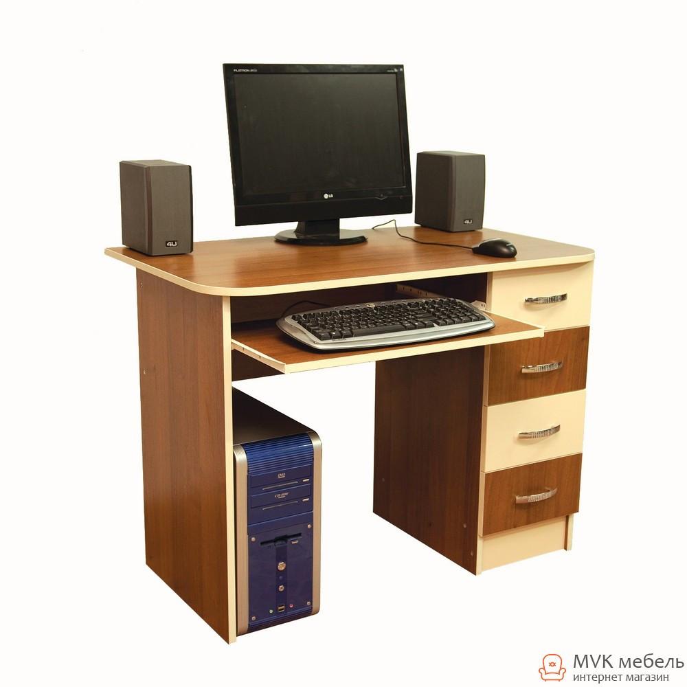 Прямой компьютерный стол Ника-19