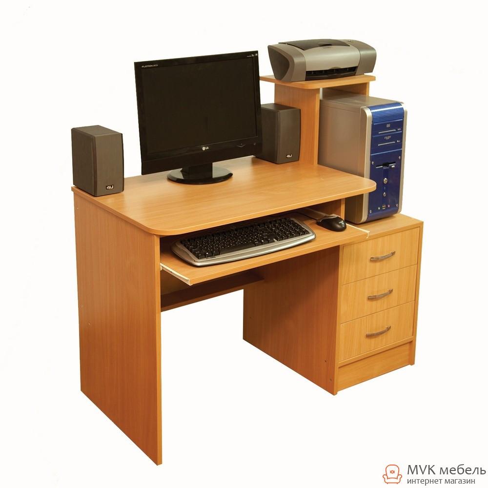 Компактный компьютерный стол Ника-20