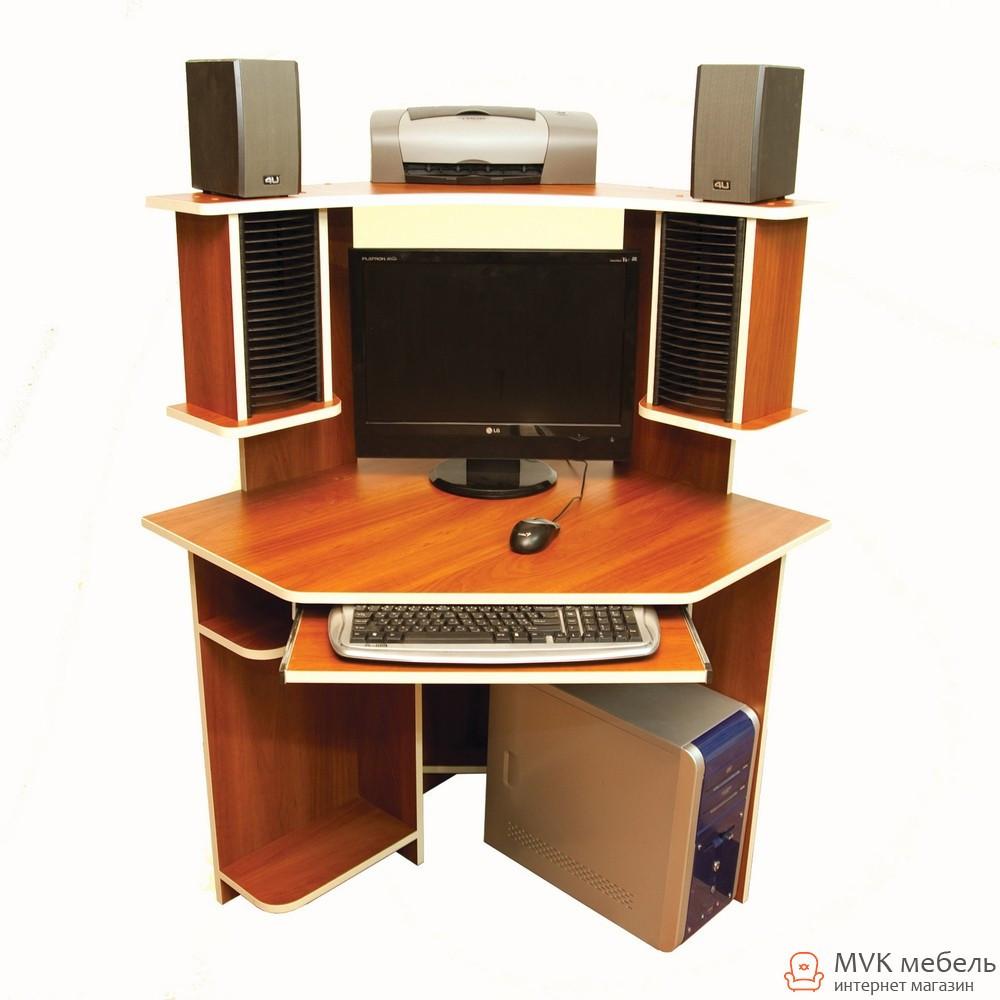 Угловой компьютерный стол Ника-38