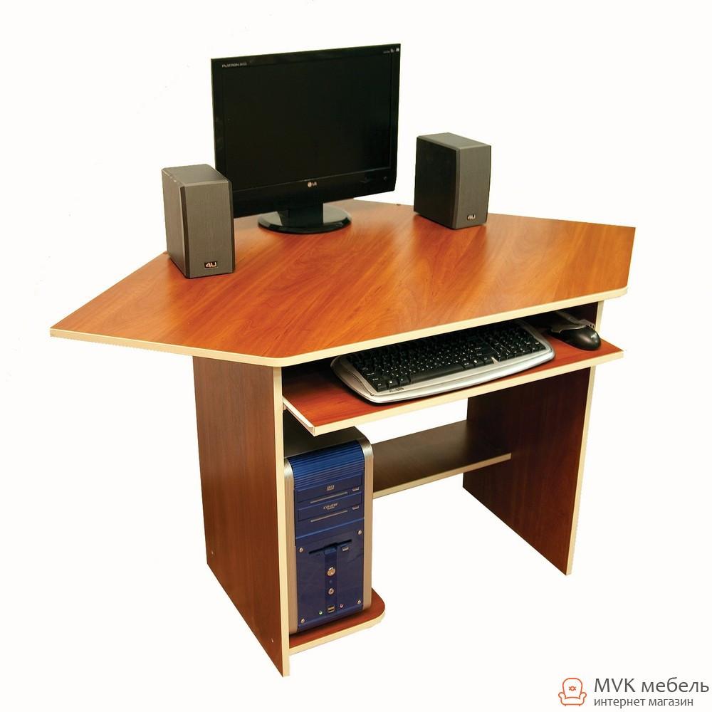 Небольшой угловой компьютерный стол Ника-39