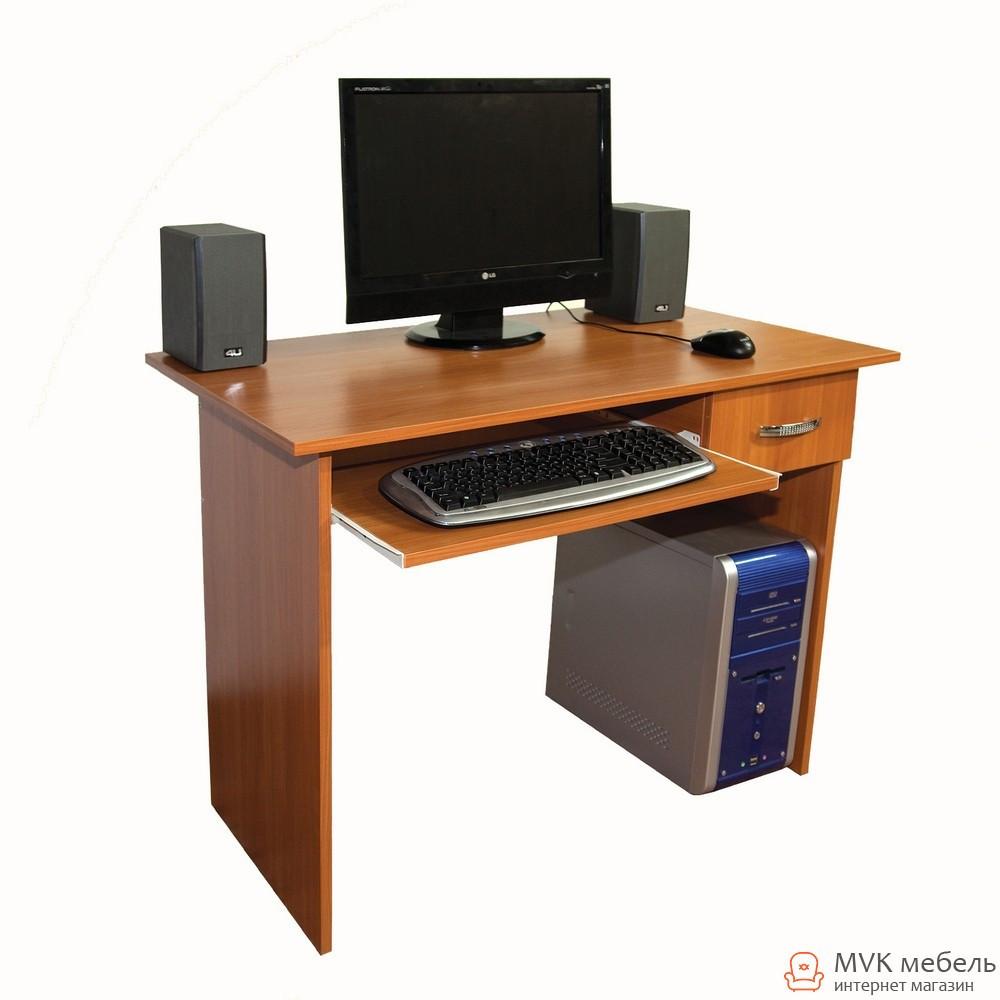 Прямой маленький компьютерный стол Ника-41