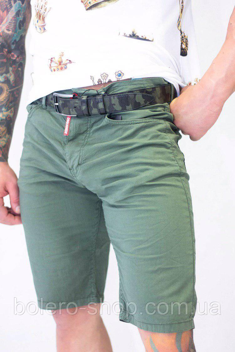Шорты мужские Dsquared2 зеленые