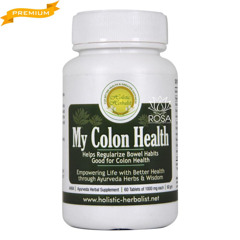 Май Колон Хелс (Holistic Herbalist) - Аюрведа премиум при воспалительных заболеваниях кишечника, 60 таблеток