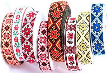 Ленты с украинским орнаментом