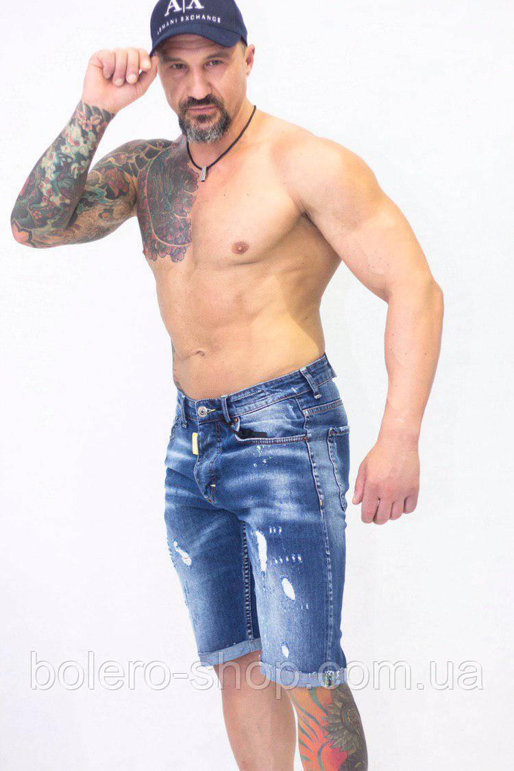 Шорты джинсовые мужские  Dsquared2