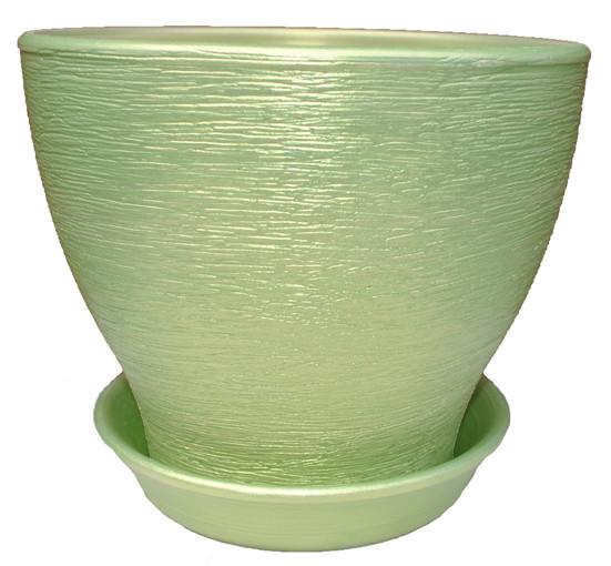 Керамічний горщик для пересадки рослини Ксенія 8 люкс