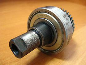 Шестерня с валом переворотной дисковой пилы L71 mm D40 mm, фото 2