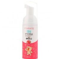 Пенка-мусс для чистки зубов V-White Fresh Strawberry для детской автоматической зубной щетки Beaver, 60 мл
