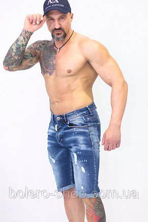 Шорты джинсовые мужские  Dsquared2 , фото 2