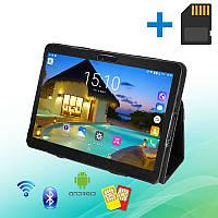 Недорогой Планшет-Телефон MiXzo ME1023 3G 10.1 дюймов 1GB RAM 16GB ROM GPS + Чехол + Карта 64GB, фото 1