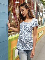 Футболка для беременных и кормящих Juicy (blue), фото 1