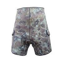Неопреновые шорты для подводной охоты с карманами Marlin Camo Green