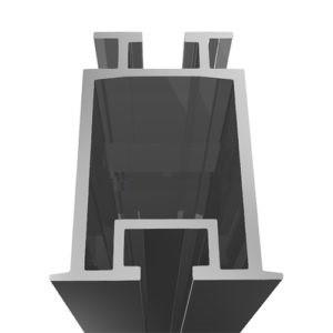 Алюминиевый профиль SPL-2 для Солнечных батарей