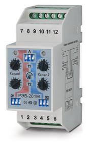 Новатек РЭВ-201М реле времени двухканальное модернизированное