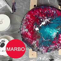 Красный краситель пигмент для смол Марбо Marbo (Италия), 15 мл, концентриров.