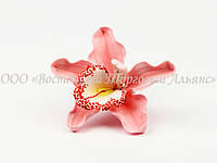 Цветы из мастики - Орхидея розовая ∅110 - 1 шт.