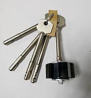"""Циліндровий механізм """"Бар'єр"""" ЦСМ-9 для 2М, 3М (старі моделі замків) з довжиною ключа 78 мм"""
