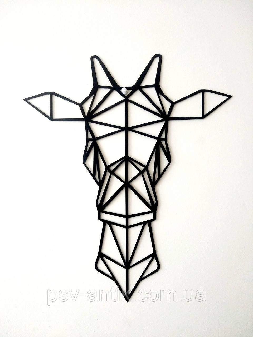 Настенный декор. Геометрические фигуры. Лофт. Панно из металла.