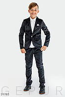 Вельветовый костюм для мальника, рост 122-146