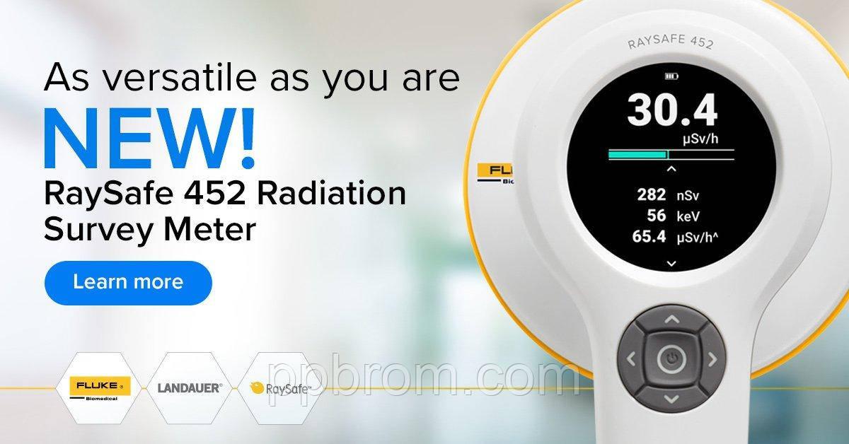 Медичний Дозиметр-радіометр RaySafe 452 (Вимірювання Дози, КЕРМА)