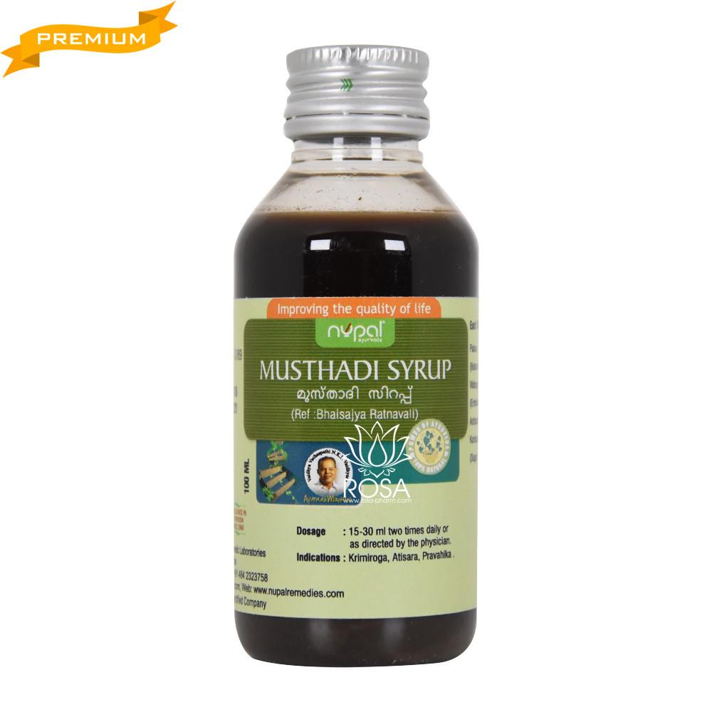 Мустади сироп (Musthadi Syrup, Nupal Remedies), 100 мл - протигельмітний препарат