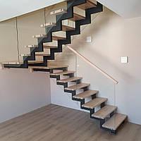 Лестницы на металлическом каркасе. Лестницы из металла. Красивая металлическкая лестница