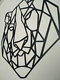 Настінний декор. Геометричні фігури. Лофт. Панно з металу., фото 3