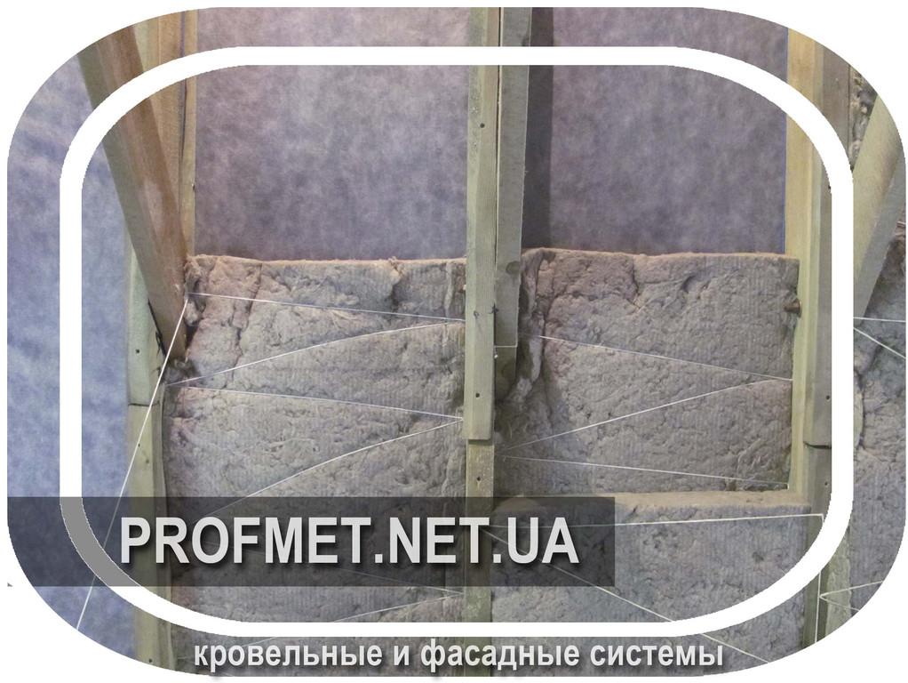 Мансардное помещение, утепление и пароизоляция изнутри.