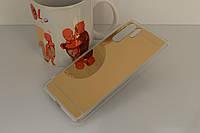 Чехол Mirror case для Huawei P30 Pro силикон зеркальный золотой
