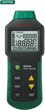 MS5908C Mastech Портативный анализатор цепей питания.ИзмерениеTrue RMS значений для AC напряжения - OOO «ИНКОТЕЛ СИСТЕМ» в Киеве