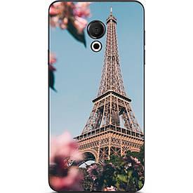 Чехол с картинкой силиконовый для Meizu 15 Lite Париж