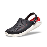 Сланцы мужские Crocs Literide Clog black-red