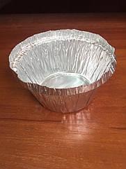 Контейнер пищевой алюминиевый С5/100штук 135мл