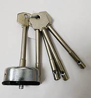 """Циліндровий механізм """"Бар'єр"""" ЦСМ-9РГ для 2Р, 3Р з довжиною ключа 78 мм"""