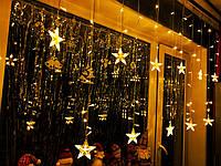 Гирлянда Штора на окно «Милые звёзды» , фото 1