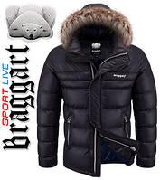Мужская зимняя куртка с мехом оптом