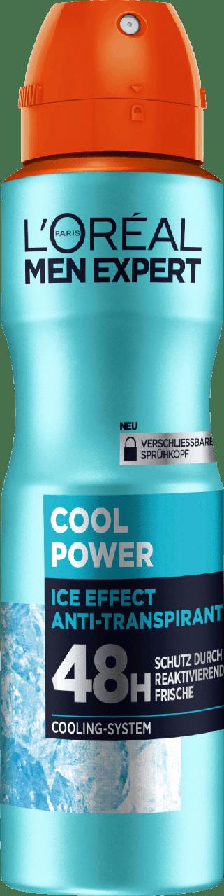 Дезодорант-спрей для мужчин L'ORÉAL Men Cool Power, 150 мл.