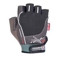 Перчатки для фитнеса и тяжелой атлетики Power System Woman's Power PS-2570 S Black, фото 1