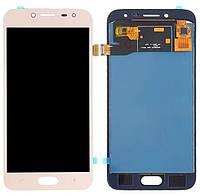 Дисплей Samsung SM-J250F Galaxy J2 Pro 2018 gold with touchscreen TFT с регулируемой подсветкой
